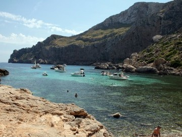 Cala Figuera in Formentor, pure natural beauty