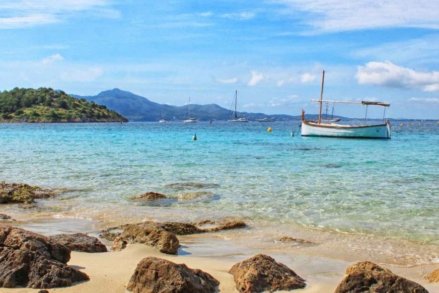 The best beach in Mallorca: Formentor