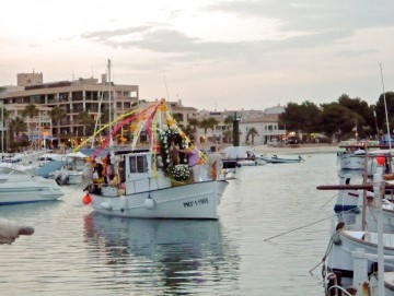 La mare de Déu del Carme, Port de Pollença local party 2016