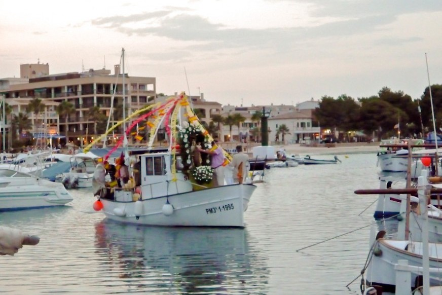 La mare de Déu del Carme, Port de Pollença local party 2016
